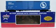 Usa Trains 19404b G Great Northern 60and039 Steel Boxcar 210295 - Metal Wheels