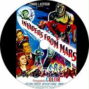 Invaders From Mars 1953 Horror Sci-fi Classic Dvd