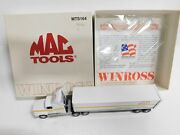 Vintage Mac Tools Winross Semi Tractor Trailer Truck Rig 164 Diecast Toy Mts164