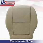 For 2008 2009 2010 Mercedes C250 C300 C350 Driver Bottom Seat Cover Almond Beige