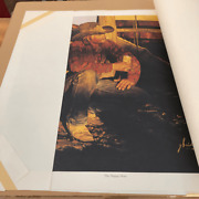 Vintage Coors Beer Art   Gordon Snidow Pencil Signed Ltd. Edn. The Happy Hour