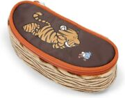 Nici Wild Friends Tiger Pencil Case With Snap Hook