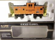 ✅k-line By Lionel Milwaukee Road Smoking Caboose For Diesel Engine Smoke