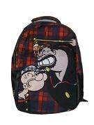 Authentic Dekryptic Popeye Vs Bluto Plaid Augmented Reality Backpack Book Bag