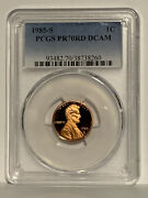 ☆top Pop☆ Pr-70-rd 1985-s Lincoln Memorial Penny Pcgs Nice Looking Coin