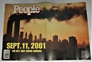 911 9/11 9-1-1 People Magazine The Day That Shook America Good Condition