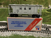 ✅weaver Norfolk Western Ps-2 Covered Hopper Car W/ Lionel Couplers Nandw Southern