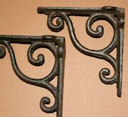 Small Antique Style Metal Corbels Solid Cast Iron 4 Inch B-90