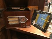 1946 Silvertone Console Antique Table Radio 78 Rpm Record Player, Plays Well
