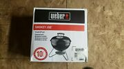 Weber Smokey Joe 10020 Portable Charcoal Grill 14in Black Brand New And Sealed