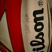Wilson 10 Inch Leather Golf Bag Autographed By Sir Nick Faldo 1989