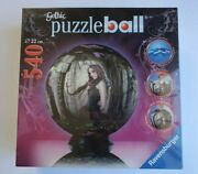 Ravensburger Puzzle Gothic Puzzleball 9 3d Goth Girl Butterfly 540pc New Sealed