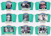 Antique Cars 1992 Panini Complete Base Card Set Of 100 Tr Car