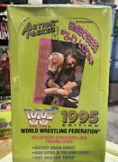 1995 Wwf Action Packed Super Premium Wrestling Trading Card Factory Sealed Box