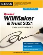 Quicken Willmaker And Trust 2021 Book And Software Kit