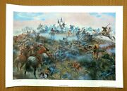 Custerand039s Last Stand By Mort Kanduumlnstler A Signed Limited Edition Print 36 Of 850