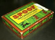1918 Milton Bradley Spoof - The Cheer-up Game Card Game Complete Peru Inca
