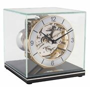 Hermle -cube 18cm- 23052-740340 High Quality Analog Table Clock With Conclusions