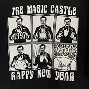 Vintage T Shirt Tee Men's L The Magic Castle Club Hollywood California New Years