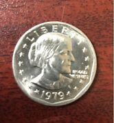 1979-p Susan B. Anthony Liberty Dollar Coin. And039and039good Conditionand039and039 Philadelphia