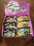 Wax Bats And Ghost Syrup Filled Vintage Halloween Candy Display