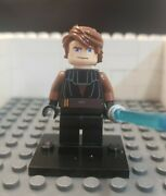 Lego Star Wars Clone Wars Anakin Skywalker Minifigure From Sets 7680 And 7675