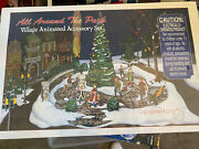 Dept 56 52477 Village Animated All Around The Park Ret 1996 New In Box - Sealed
