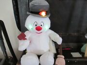 Frosty The Snowman Build A Bear Works Hat Pipe Scarf Broom