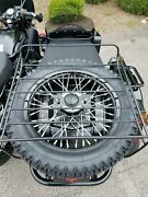Spare Tire Luggage Rack Assembly Ural Gear Up Patrol Tourist 750 Cc 650 Cc