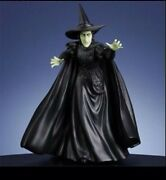 San Francisco Music Box Wizard Of Oz Wicked Witch Figurine Musical Newandnbsp 17 Tall