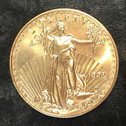 1992 American Gold Eagle 1/2oz 25 Gold Coin - High Quality Scans E587