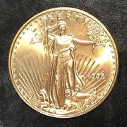 1992 American Gold Eagle 1/2oz 25 Gold Coin - High Quality Scans E586