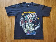 Vintage 1995 White Zombie Freaks And Human Oddities T Shirt Xl Rob Zombie Clown