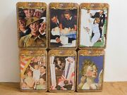 New Sealed Lot Of Norman Rockwell Collection 1765 Jigsaw Puzzles 500 Pieces Tins