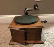 Victor Victoria Talking Machine Record Co Player Style Vv-iv Camden New Jersey