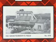 Ho 1/87 Scale Campbell Models 419 Montgomery Feed And Seed Craftsman Building Kit
