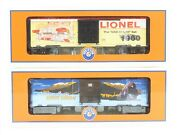 O Gauge 3-rail Lionel 6-39322 Cp Canadian Pacific And Lionel Art Box Car 2-pack