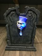 Two Official Disney Haunted Mansion Tombstones Rare