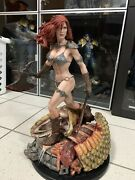 Sideshow Red Sonja She-devil With A Sword Exclusive Premium Format Figure