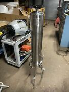 Millipore Allegheny Bradford Corp Stainless Steel Filter Housing Stand