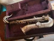 The Martin Low Pitch Saxophone Vintage