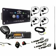 Pci California Ultimate 4 Seat Bluetooth + Dsp Package With Helmet Wiring Kits