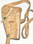 U.s. 1911 Shoulder Holster Boyt Leather Good Condition Nice Patina Straps Buckle