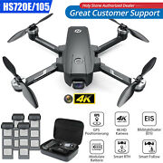 Holy Stone Hs720e 4k Eis Drone With Uhd Camera Gps Fpv Rc Quadcopter Follow Me