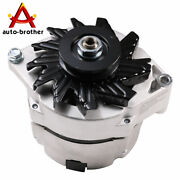 12v Alternator High Output 105 Amp For Chevy One 1 Wire Delco 10si Self-exciting