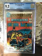 Batman The Brave And The Bold 200 1st App The Outsiders Cgc 9.2