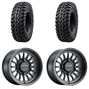 2 Tusk Terrabiteandreg Radial Tire 30x10-14 Medium/hard Terrain 2 4/156 Method