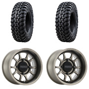 2 Tusk Terrabiteandreg Radial Tire 30x10-15 Medium/hard Terrain 2 4/136 Method