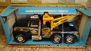 Rare Nib 1987 Vintage Ford Nylint Towing 866 Twin Boom Wrecker Tow Truck Usa