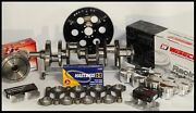 Bbc Chevy 496 Assembly Scat And Wiseco +20cc Dome 4.310 Pistons 060 Over 2pc Rms